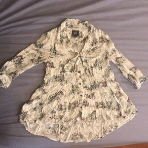 Anthropologie Maeve Blouse Small